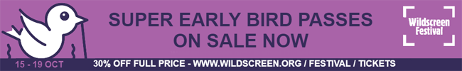 Wildscreen 2018 Super Early Bird Festival Tickets