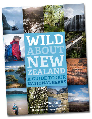 Wild about New Zealand Book