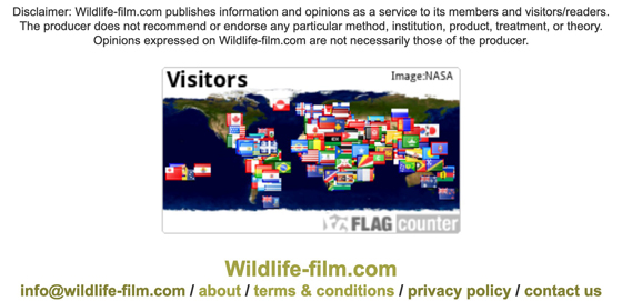 Wildlife-film.com Disclaimer